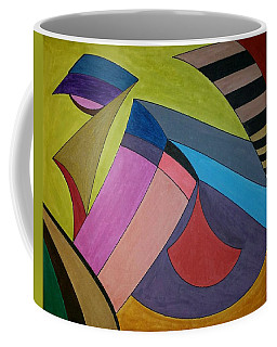 Coffee Mug featuring the painting Dream 311 by S S-ray