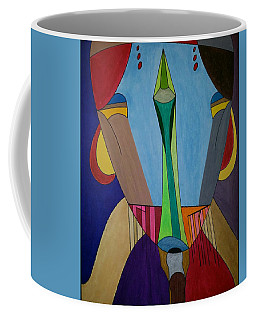 Coffee Mug featuring the painting Dream 312 by S S-ray