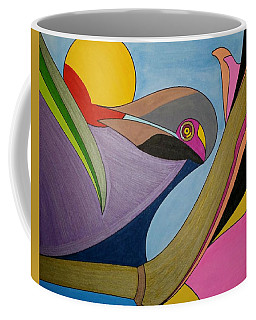 Coffee Mug featuring the painting Dream 314 by S S-ray