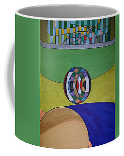 Coffee Mug featuring the painting Dream 315 by S S-ray