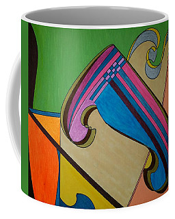 Coffee Mug featuring the painting Dream 317 by S S-ray