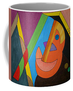 Coffee Mug featuring the painting Dream 318 by S S-ray