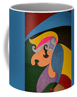 Coffee Mug featuring the painting Dream 319 by S S-ray