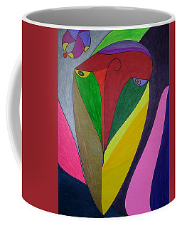 Coffee Mug featuring the painting Dream 320 by S S-ray