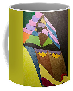 Coffee Mug featuring the painting Dream 321 by S S-ray