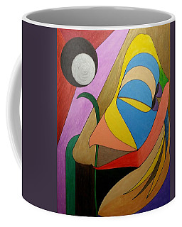 Coffee Mug featuring the painting Dream 322 by S S-ray