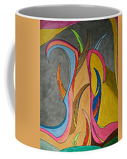 Coffee Mug featuring the painting Dream 324 by S S-ray