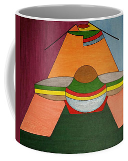 Coffee Mug featuring the painting Dream 325 by S S-ray