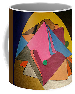 Coffee Mug featuring the painting Dream 327 by S S-ray