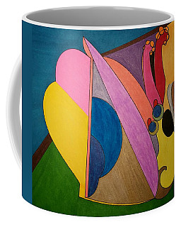 Coffee Mug featuring the painting Dream 328 by S S-ray