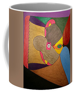 Coffee Mug featuring the painting Dream 329 by S S-ray