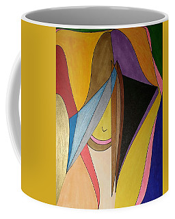 Coffee Mug featuring the painting Dream 330 by S S-ray