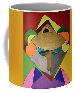 Coffee Mug featuring the painting Dream 331 by S S-ray