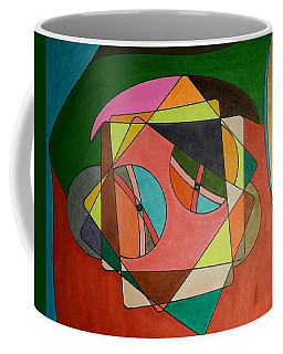 Coffee Mug featuring the painting Dream 332 by S S-ray