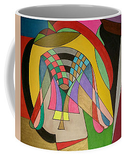 Coffee Mug featuring the painting Dream 333 by S S-ray