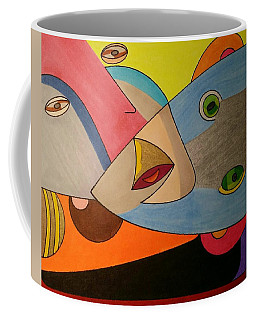 Coffee Mug featuring the painting Dream 334 by S S-ray