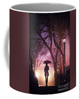 Dream Beneath Winter Rain Coffee Mug
