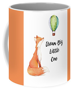 Coffee Mug featuring the digital art Dream Big Little One by Colleen Taylor