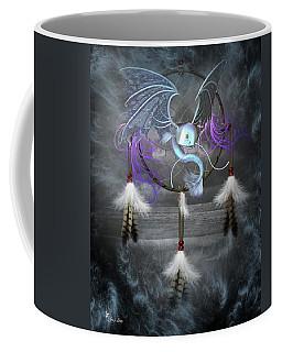Dream Catcher Dragon Fish Coffee Mug