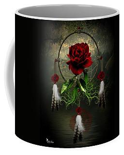 Dream Catcher Rose Coffee Mug