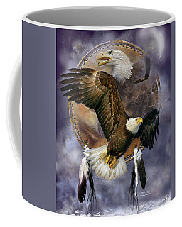 Dream Catcher - Spirit Eagle Coffee Mug