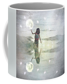 To Touch The Moon Coffee Mug