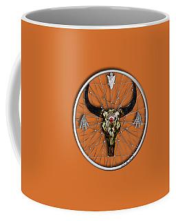 Coffee Mug featuring the digital art Dream Guardian by Iowan Stone-Flowers