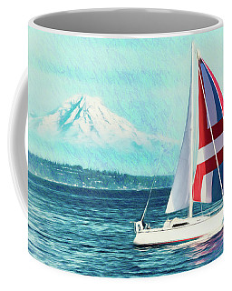 Dream Of Sailing Coffee Mug