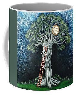 Dream Of The Clock Coffee Mug