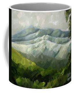 Dream Scape Coffee Mug by Carrie Joy Byrnes