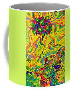 Dream-scaped Swamp Garden 2 Coffee Mug
