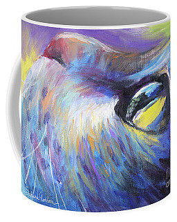 Dreamer Tubby Cat Painting Coffee Mug
