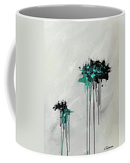Coffee Mug featuring the painting Dreamers by Carmen Guedez