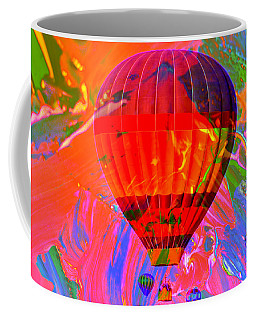 Coffee Mug featuring the photograph Dreaming Across The Sky by Jeff Swan