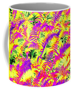 Dreaming Ferns Coffee Mug by Ludwig Keck