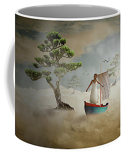 Coffee Mug featuring the digital art Dreaming High by Nathan Wright