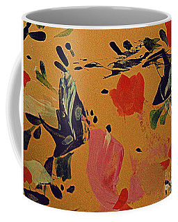 Coffee Mug featuring the painting Dreaming In Color by Nancy Kane Chapman