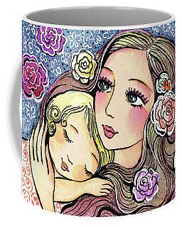 Dreaming In Roses Coffee Mug