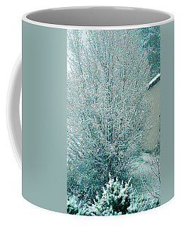 Coffee Mug featuring the photograph Dreaming Of A White Christmas - Winter In Switzerland by Susanne Van Hulst
