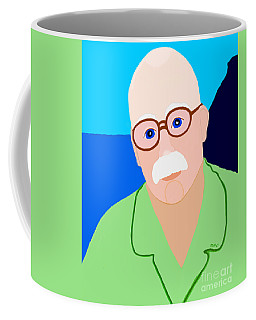 Dreaming Of Retiring To Hawaii Coffee Mug by Marian Cates