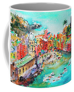 Dreaming Of Vernazza Cinque Terre Italy Coffee Mug