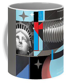 Coffee Mug featuring the mixed media Dreams by Andrew Drozdowicz