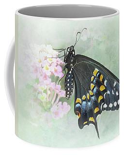 Dreams Of A Black Swallowtail Butterfly Coffee Mug