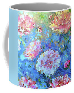 Coffee Mug featuring the painting Dreams Of Love by Claire Bull