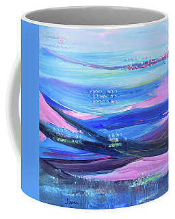 Coffee Mug featuring the painting Dreamscape by Irene Hurdle