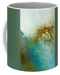 Coffee Mug featuring the painting Dreamstime 3 by Irene Hurdle