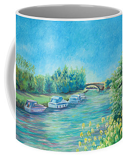 Coffee Mug featuring the painting Dreamy Days by Elizabeth Lock