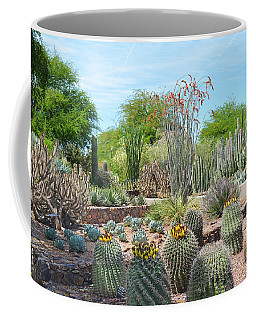 Dreamy Desert Cactus Coffee Mug by Aimee L Maher Photography and Art Visit ALMGallerydotcom