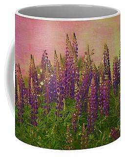 Dreamy Lupin Coffee Mug by Deborah Benoit