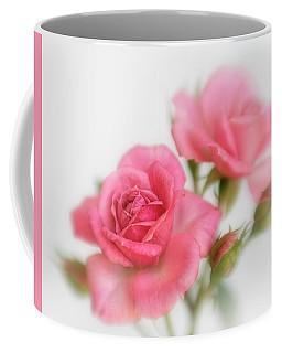 Dreamy Pink Roses Coffee Mug